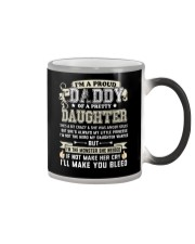Proud Daddy of a Pretty Daughter Father's Day Color Changing Mug thumbnail