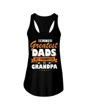 Only The Greatest Dads Get Promoted To Grandpa Ladies Flowy Tank thumbnail