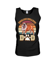 English Bulldog Dad For Fathers Day Dog Owner Unisex Tank thumbnail