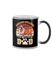 English Bulldog Dad For Fathers Day Dog Owner Color Changing Mug thumbnail