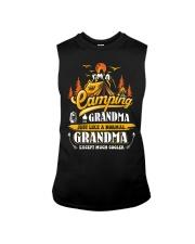 Camping Grandma Outdoors Camper Mountain Camper Sleeveless Tee thumbnail