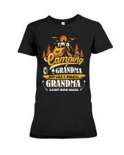 Camping Grandma Outdoors Camper Mountain Camper Premium Fit Ladies Tee thumbnail