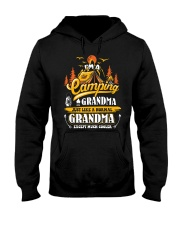 Camping Grandma Outdoors Camper Mountain Camper Hooded Sweatshirt thumbnail