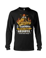 Camping Grandma Outdoors Camper Mountain Camper Long Sleeve Tee thumbnail