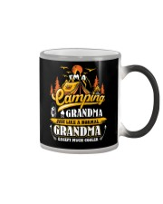 Camping Grandma Outdoors Camper Mountain Camper Color Changing Mug thumbnail