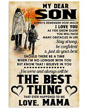 MY DEAR SON - LOVE MAMA 11x17 Poster front