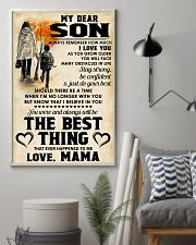 MY DEAR SON - LOVE MAMA 11x17 Poster lifestyle-poster-1