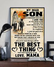 MY DEAR SON - LOVE MAMA 11x17 Poster lifestyle-poster-2