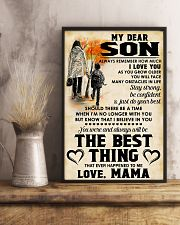 MY DEAR SON - LOVE MAMA 11x17 Poster lifestyle-poster-3