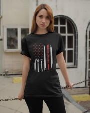 Mechanic Engineer Mechanist Garage Classic T-Shirt apparel-classic-tshirt-lifestyle-19