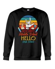 Goodbye Middle School Hello HighSchool Graduation  Crewneck Sweatshirt thumbnail