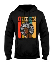 African American Shirt for Educated Strong Black  Hooded Sweatshirt thumbnail