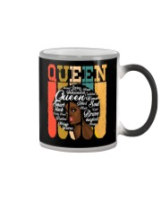 African American Shirt for Educated Strong Black  Color Changing Mug thumbnail