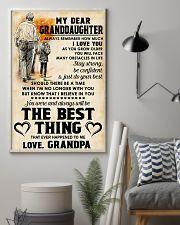 MY DEAR GRANDDAUGHTER - Love GRANDPA 11x17 Poster lifestyle-poster-1
