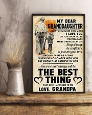 MY DEAR GRANDDAUGHTER - Love GRANDPA 11x17 Poster lifestyle-poster-3