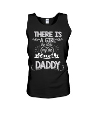 Fathers Day for Dad from Daughter New Dad Tee Unisex Tank thumbnail