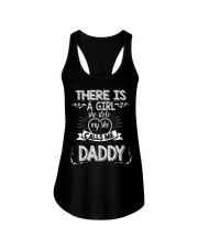 Fathers Day for Dad from Daughter New Dad Tee Ladies Flowy Tank thumbnail