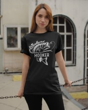 Weekend Hooker Fishing Lovers Fisher Gift Classic T-Shirt apparel-classic-tshirt-lifestyle-19