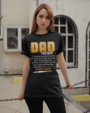 Christian Dad Definition Fathers Day Classic T-Shirt apparel-classic-tshirt-lifestyle-19