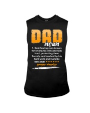 Christian Dad Definition Fathers Day Sleeveless Tee thumbnail