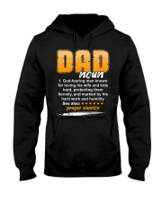 Christian Dad Definition Fathers Day Hooded Sweatshirt thumbnail