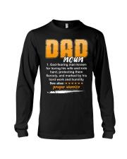 Christian Dad Definition Fathers Day Long Sleeve Tee thumbnail