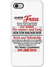 AN MEINE FRAU Phone Case tile