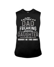 I'm A Proud Dad Freaking Awesome Daughter Sleeveless Tee thumbnail