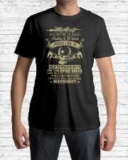 Machinist Shirt My Craft Allows to Build Anything Premium Fit Mens Tee lifestyle-mens-crewneck-front-1