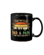 Mens I Have Two Titles Dad And Papa  Mug thumbnail