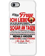 AN MEINE FRAU - Ich Liebe Dich Phone Case tile