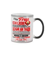 AN MEINE FRAU - Ich Liebe Dich Color Changing Mug color-changing-right