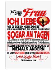 AN MEINE FRAU - Ich Liebe Dich Vertical Poster tile