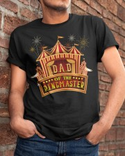 Dad Of The Birthday Ringmaster Kids Circus Party Classic T-Shirt apparel-classic-tshirt-lifestyle-26