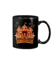 Dad Of The Birthday Ringmaster Kids Circus Party Mug thumbnail