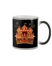 Dad Of The Birthday Ringmaster Kids Circus Party Color Changing Mug thumbnail