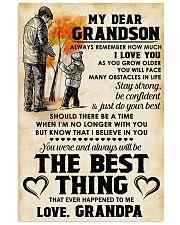 MY DEAR GRANDSON - Love GRANDPA 11x17 Poster front