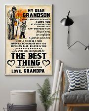 MY DEAR GRANDSON - Love GRANDPA 11x17 Poster lifestyle-poster-1