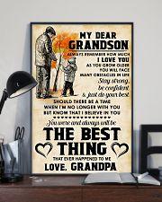 MY DEAR GRANDSON - Love GRANDPA 11x17 Poster lifestyle-poster-2