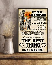 MY DEAR GRANDSON - Love GRANDPA 11x17 Poster lifestyle-poster-3