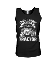 Vintage I Don't Snore I Dream I'm a Tractor Unisex Tank thumbnail