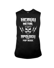 Heavy Metal Is God's Apology For Pop Music Gift Sleeveless Tee thumbnail