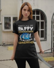 They Call Me Pappy Shirt Fathers Day For Grandpa Classic T-Shirt apparel-classic-tshirt-lifestyle-19