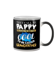 They Call Me Pappy Shirt Fathers Day For Grandpa Color Changing Mug thumbnail