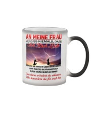 AN MEINE FRAU ICH DICH LIEBE Color Changing Mug color-changing-right