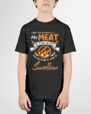 You Put My Meat in Your Mouth Going to Swallow Youth T-Shirt garment-youth-tshirt-front-01