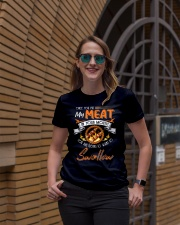 You Put My Meat in Your Mouth Going to Swallow Premium Fit Ladies Tee lifestyle-women-crewneck-front-2