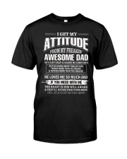 I Love God Some of His Children Get On My Nerves Classic T-Shirt front