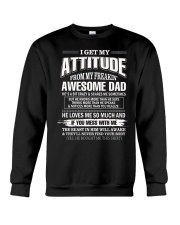 I Love God Some of His Children Get On My Nerves Crewneck Sweatshirt thumbnail