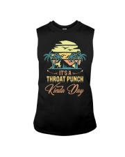Vintage It's A Throat Punch Kinda Day Retro Sleeveless Tee tile